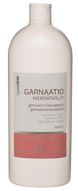 Massageöl Garnaatio